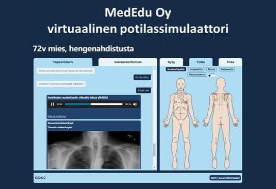 Hyvä lääkäri- ja hammaslääkärikouluttaja! Haluatko kouluttautua ensimmäisten joukossa käyttämään virtuaalisia potilasta...